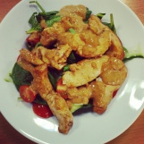 Chicken satay salad (TBC)
